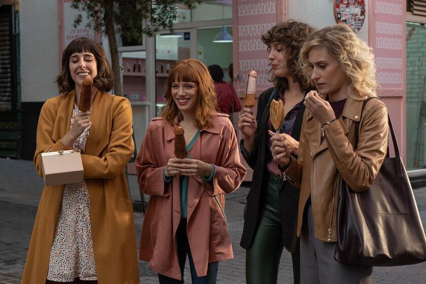 La série à succès Valeria sur Netflix a participé au succès des pâtisserie de la Polleteria à Barcelone, Netflix