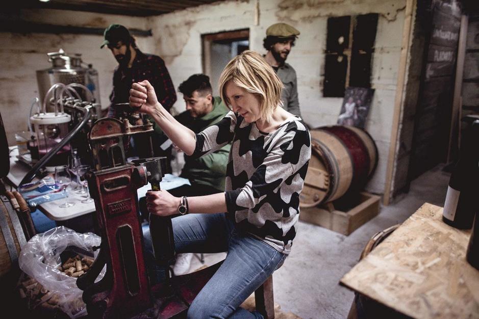 Wijn maken in de stad: het gebeurt steeds meer., GF