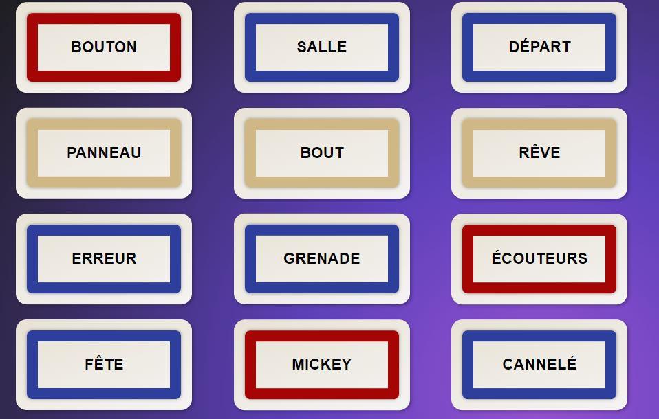 Codenames en ligne., Pink-Cell