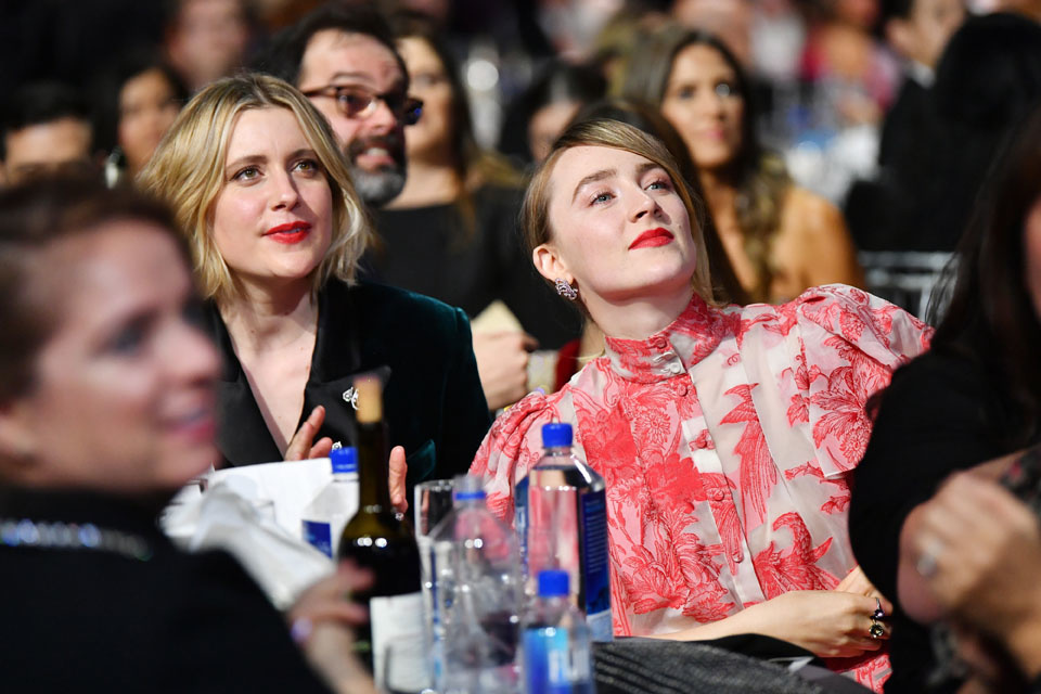 Greta Gerwig et Saoirse Ronan, Getty Images