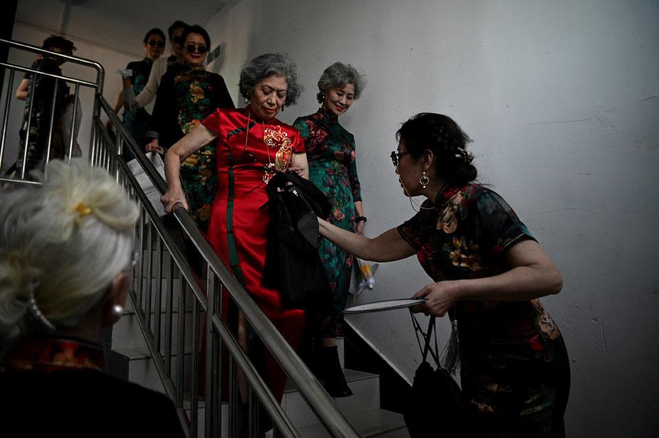 Les mamies tendance chinoises, stars des réseaux sociaux, AFP