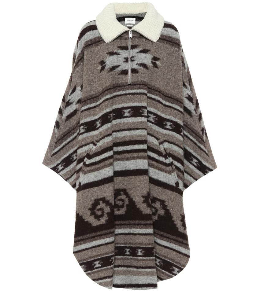 Cape Isabel Marant inspirée des motifs mexicains purapecha , DR