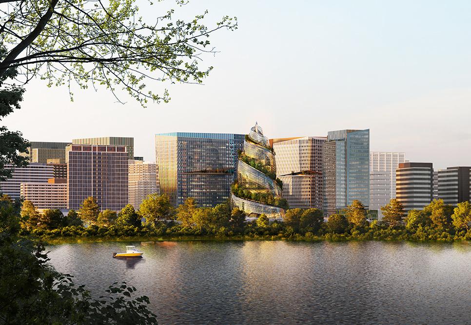 Siège d'Amazon à Arlington (Washington), NBBJ Agency